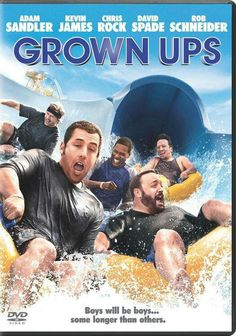 I love Grown Ups and Grown Ups 2. It's very hard to choose between the two. So I'll just say it's a tie :)