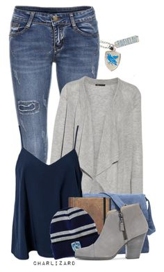"""""""Ravenclaw"""" by charlizard ❤ liked on Polyvore featuring Vince, NLY Trend, rag & bone, harrypotter, hogwarts and ravenclaw"""