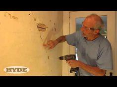 Fix Cracks in Plaster Like a Pro - YouTube