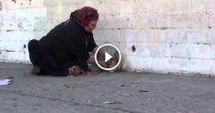 Un video molto molto tenero e dolce, che fa riflettere e pensare al perché ci sono persone al mondo che decidono di abbandonare gli animali. Magari