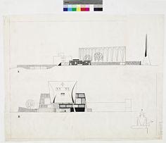 t. John's Abbey and University Complex / Architect: Marcel Breuer and Associates: Marcel Breuer (Architect); Hamilton P. Smith (Associate) for the Church and Campanile --
