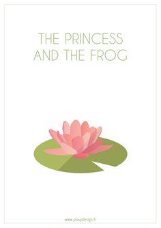 Biollywood - The princess and the frog (2009) #biollywood #plant #minimal #movie #princessandthefrog