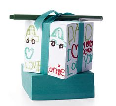 3 cool DIY #FathersDay gifts from the kids - DIY note cube - @Cool Mom Picks - via @babycenter