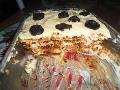 Namari Artesanato: Pavê com sobras de bolo
