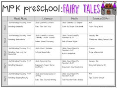 Plemons' Kindergarten is dedicated to fresh engaging and fun teaching ideas for toddlers preschoolers and the grade classroom. The post Preschool: Fairy Tales {Week appeared first on Toddlers Diy. Daycare Themes, Preschool Themes, Preschool Lessons, Preschool Classroom, Preschool Learning, In Kindergarten, Preschool Printables, Future Classroom, Learning Activities