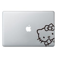 Hello Kitty Macbook Stickers Sticker Decals Decal by JellyXStudio, $6.90