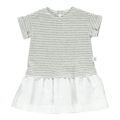 Striped Dress Il Gufo Baby Children- A large selection of Fashion on Smallable, the Family Concept Store - More than 600 brands.