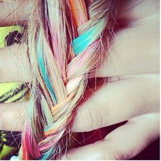 Colourful hair is just amazing!