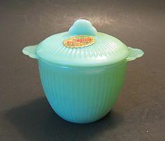 Fire King Jadeite sugar bowl