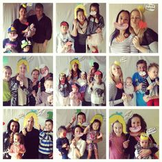 Some of the lovely guests to A's tea party!
