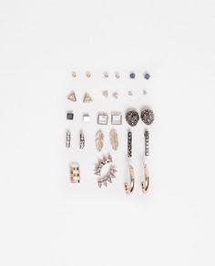 Imagen 1 de PACK PENDIENTES FANTASIA Y BRILLO de Zara