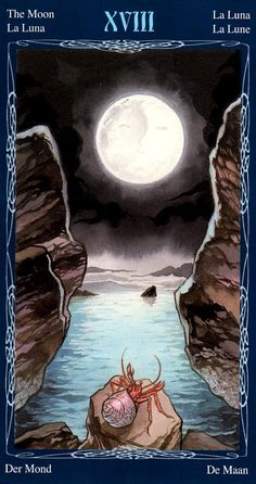 The Moon - Tarot of the Mystic Spiral