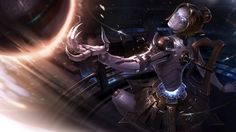 Orianna New Classic Splash Art League of Legends Girl Picture Wallpaper 1920×1080
