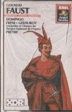 Gounod: Faust  by Geoges Pretre ,Paris Opera Chorus & Orchestra ,Placido Domingo 077776309040