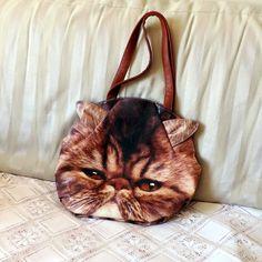 Bolsa Cara de Gato Exótico