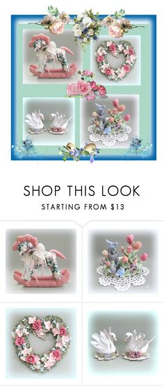 """""""A Floral Affair"""" by sharon-pipkin ❤ liked on Polyvore"""