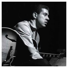 Kenny Burrell, one of the most sweetly lyrical players I have ever heard.