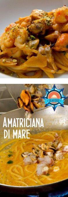 La migliore matriciana o amatriciana di mare la fai con questa ricetta