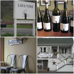 Lava Vine may have a tiny tasting room, but it provides an amazing experience