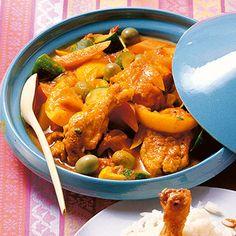 Hähnchen-Tajine Rezept | Küchengötter