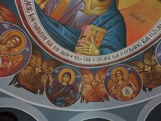 Byzantine Icons, Kai, Interiors, Fresco, Templates, Decoration Home, Decor, Deco, Chicken