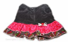 Rock aus Hose / Skirt made from trousers / Upcycling