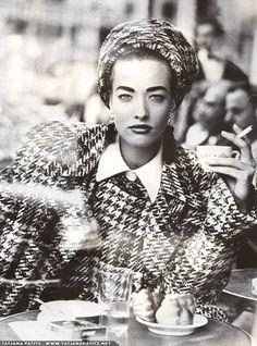 Vogue DE - L'allure d'un look - Kristen Mc Menamy - Aug 1985. Photos PETER LINDBERGH