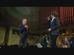 Shape of My Heart... Sting & Josh Groban... Beautiful Version... Didn't think I would like it because I thought Josh's voice would be too strong with Sting's. Don't get me wrong... really love Josh's voice but... turns out I really love this... and the trumpet on this.... WOW... So beautiful!!! Love!!!