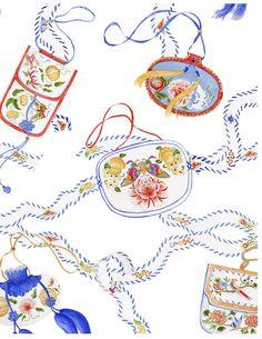 Chinoise Greeting cards by Pamela Baldwin, via Behance