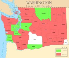 Pockets of freedom in Washington.  This map will definately help us choose where our land will be purchased to build our dream!  If you want to learn more go to Earthship Seattle or Pockets of Freedom on the earthship site