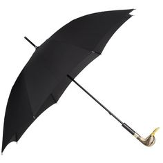 Burberry Duck Handle Walking Umbrella ($1,295) ❤ liked on Polyvore