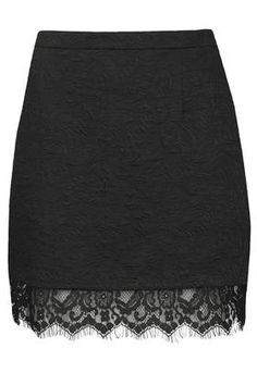Textured Lace Hem Pelmet Skirt - New In This Week - New In