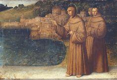 Francesco Zaganelli - Sant'Antonio da Padova predica ai pesci - 1509 - Accademia Carrara di Bergamo Pinacoteca