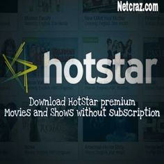 Download HotStar premium movies without any subscription  HotStar is an online streaming platform.HotStar provides movies and shows in eight (8) Indian languages include live tv and star network sports channels. HotStar owned low quality (LQ) to high definition (HD) resolution content. HotStar provides few shows and sports to stream totally free but without any subscription you can't access and watch premium movies for free. With this tutorial you don't need to get worry about anything about…