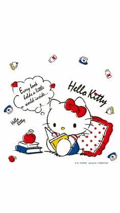 Sanrio Wallpaper, Hello Kitty Wallpaper, Mini Drawings, Kawaii Drawings, Kitty Images, Hello Kitty Collection, 90s Kids, Cricut, Snoopy