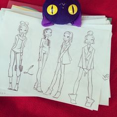Фэшон  #sketching #girl Character Poses, Character Design References, Character Concept, Anna Cattish, Girl Sketch, Character Design Inspiration, Drawing People, Girl Cartoon, Character Illustration