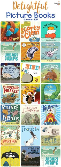 what's new in picture books, summer 2017