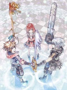 Safebooru is a anime and manga picture search engine, images are being updated hourly. Sora Kingdom Hearts, Kingdom Hearts Worlds, Kingdom Hearts Characters, Kingdom Hearts Tattoo, Kingdom 3, Kingdom Hearts Wallpaper, Heart Wallpaper, Anime Comics, Game Art