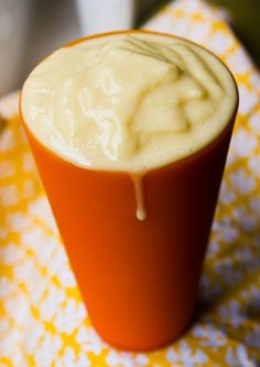Aloha Almond Pineapple Shake...I'd skip the agave...looking at the ingredients, it should be plenty sweet on its own :)...