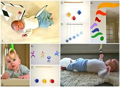 Montessori Infant Mobiles are central to a Montessori infant environment for the first few months of an infant's life. They help children start to develop focus and concentration, which are critical components of the Montessori approach.