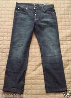#jeans for sale : 7 for All Mankind men jeans size 34 x 32 standard cut NWT made in USA withing our EBAY store at  http://stores.ebay.com/esquirestore