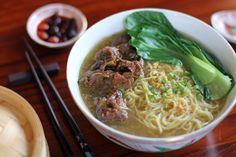 Beef Brisket Noodle Soup - Beef Brisket Noodle Soup originated in China and is made out of beef, beef stock, vegetables and noodles (commonly used is the egg noodles). It is a very common noodle dish in Southeast Asia and East Asia and you will see a lot of variations throughout the region like the Pho Bo in Vietnam and...