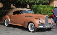 40's Packard, custom body, Darrin
