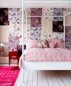 Teen Girl Bedrooms - Clever and enjoyable teen girl room notes. Desperate for other brilliant teen room styling information simply pop by the pin to wade through the pin tip 8760177821 today Colorful Interior Design, Colorful Interiors, Interior Inspiration, Room Inspiration, Teen Girl Bedrooms, Beautiful Interiors, Decoration, Bedroom Decor, Bedroom Ideas