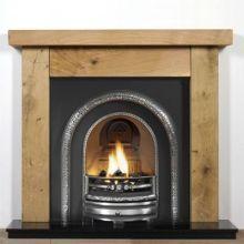 Ashford Rustic Oak Beam Fireplace