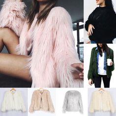 Luxury Winter Women's Casual Outerwear Coat Fox Fur Jacket Coat Cardigan Tops Us