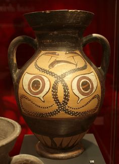 etruscan amphora . 540-530 BC