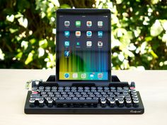 Qwerkywriter typewriter keyboard for tablets