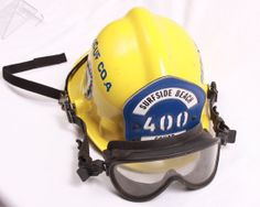 Life Saving Tools Cool Fire Helmet 16x20 by GinormousEnterprises, $19.99