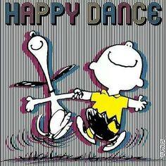 Happy Dance!